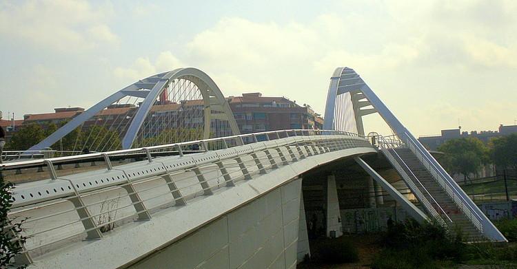 AD Classics: Bac de Roda Bridge / Santiago Calatrava, © Flickr Jaume Meneses / www.flickr.com/Jaume Meneses