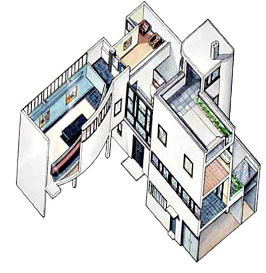 axonometric drawing - © Jaques