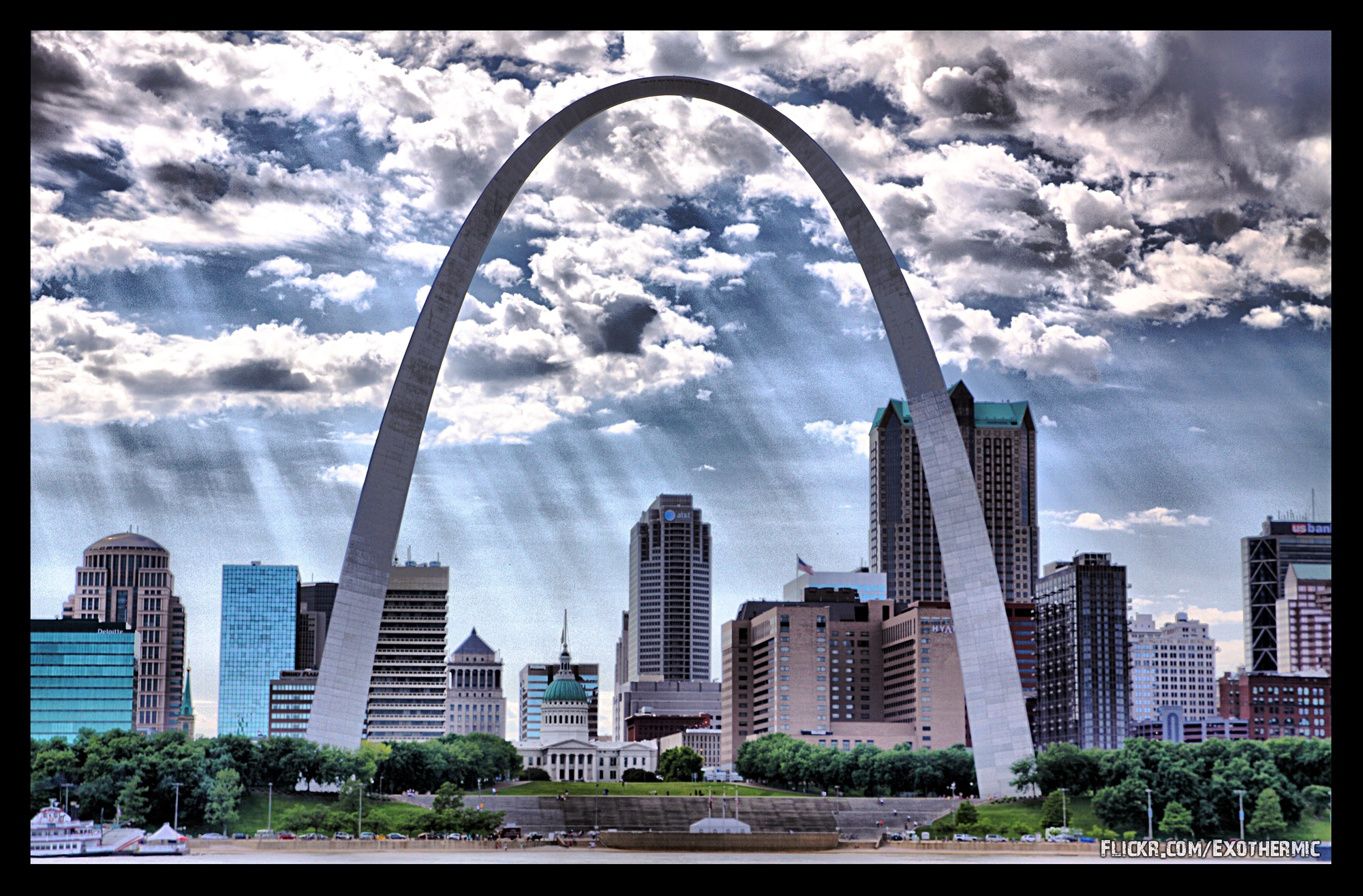 Ad classics gateway arch eero saarinen archdaily for St louis architecture