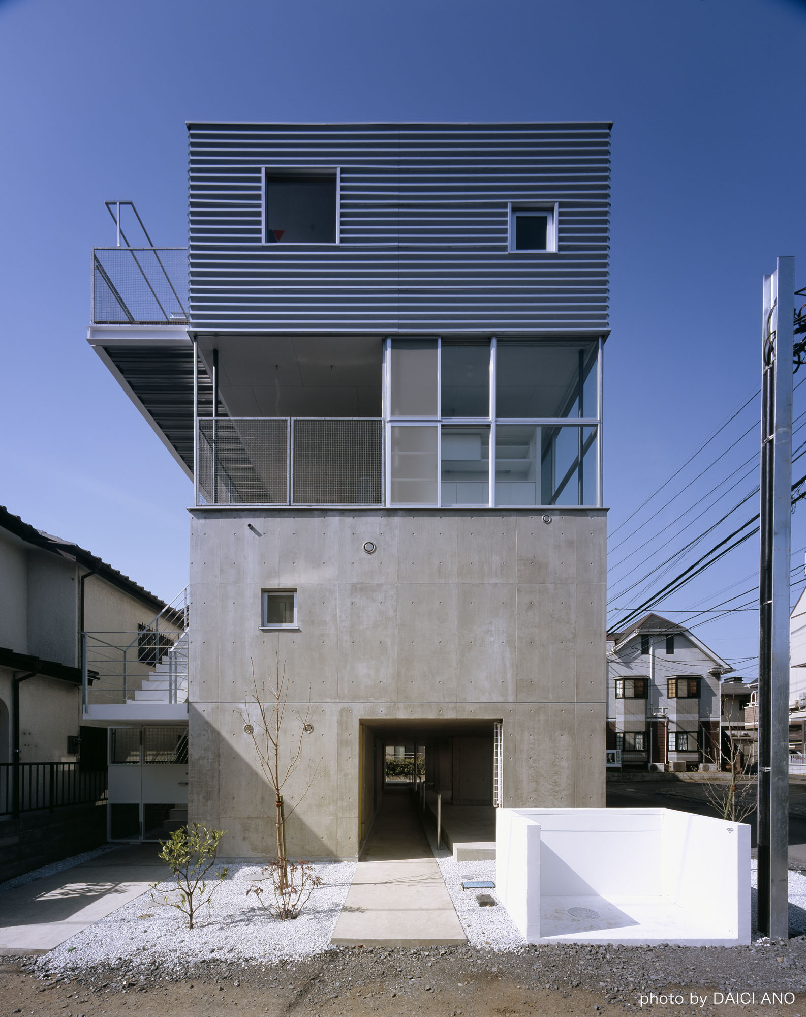 Kobuchi Apartment / Toru Kudo + architecture WORKSHOP, © Daici Ano