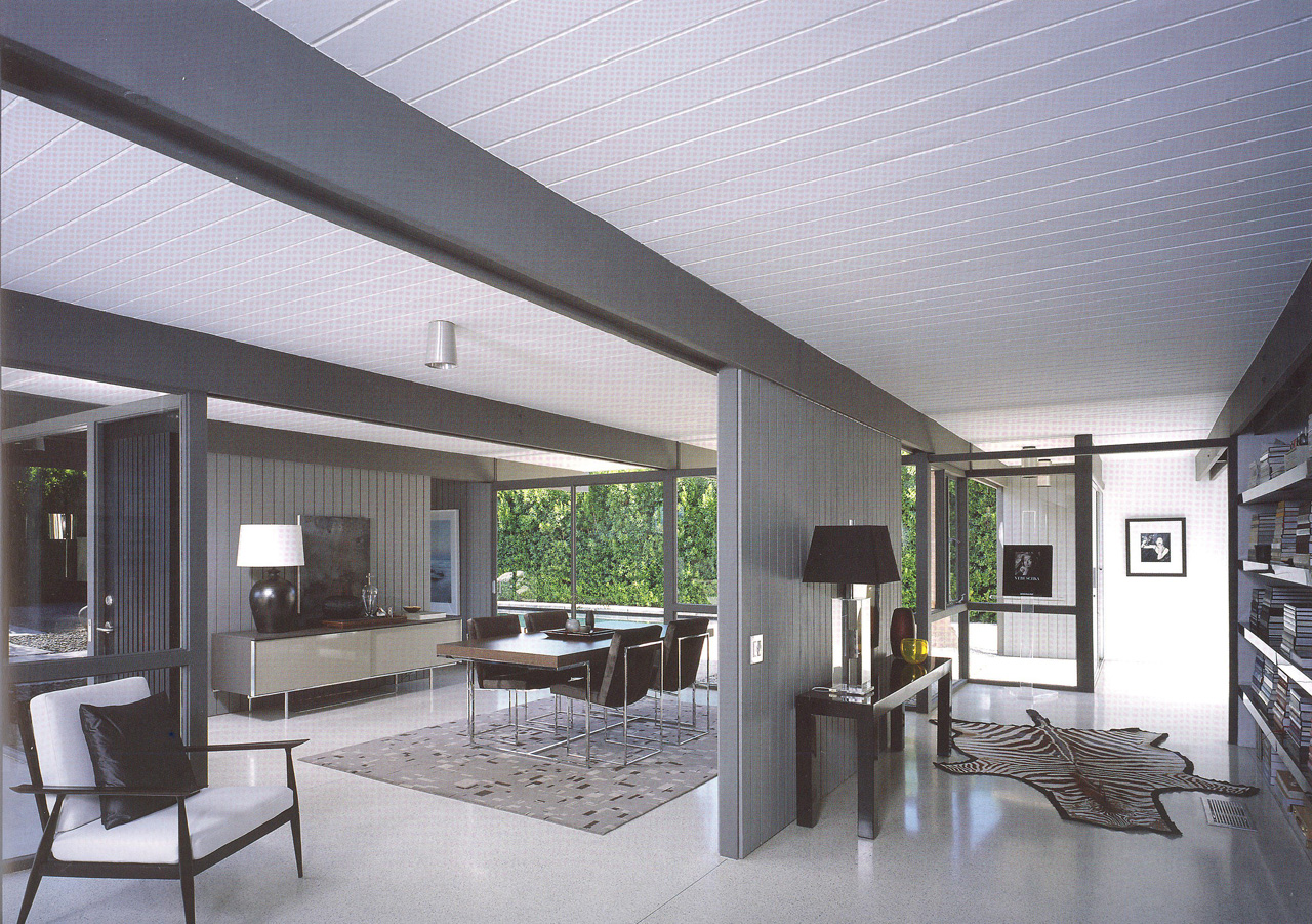 Gallery of ad classics steel pre fab houses donald wexler 14 - Interior homes pictures ...