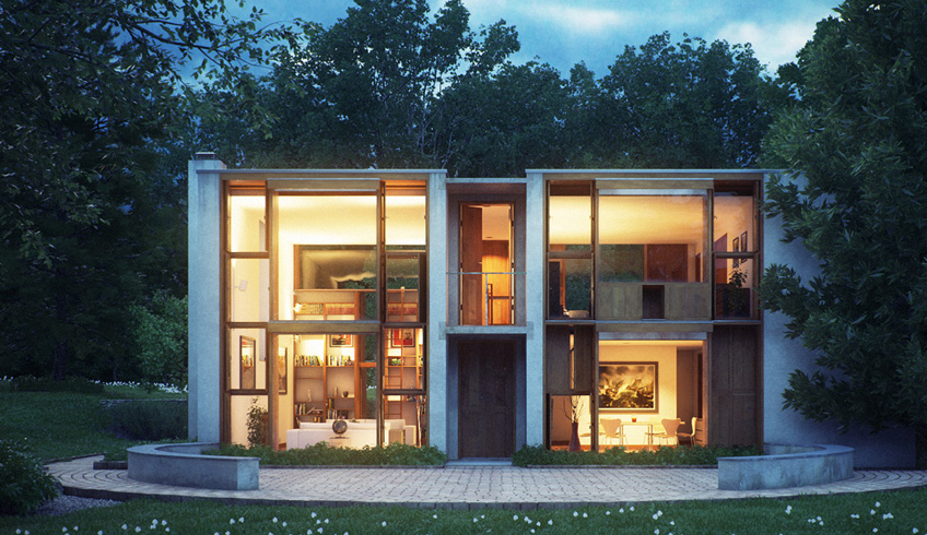 Ad classics esherick house louis kahn archdaily for Ad house