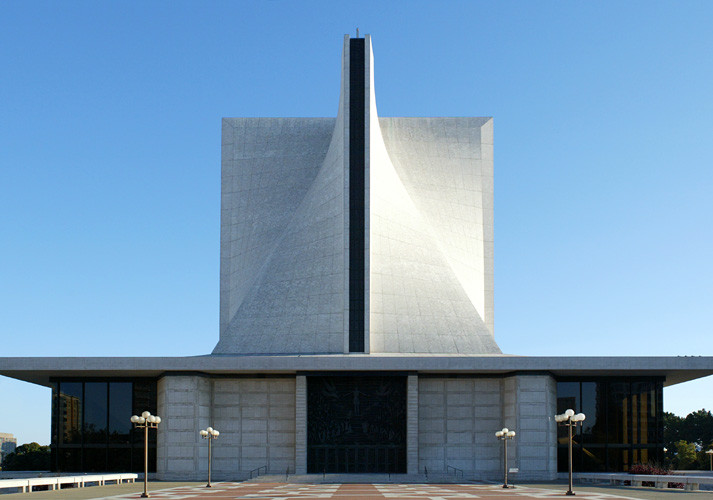 AD Classics: The Cathedral of St. Mary of the Assumption / Pietro Belluschi and Pier-Luigi Nervi, © Liao Yusheng