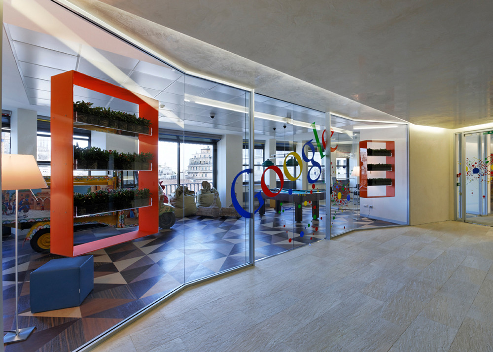 Google Offices in Milan / AMA – Albera Monti & Associati, © Bepe Raso