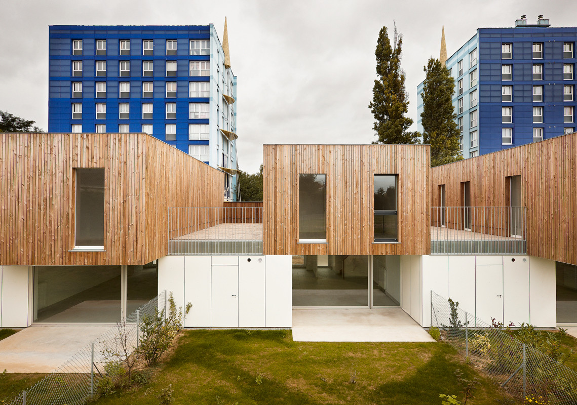 9 Houses In Lens / TANK Architectes, © Julien Lanoo