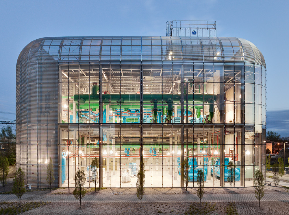 University of Chicago – South Campus Chiller Plant / Murphy Jahn, © Rainer Viertlboeck