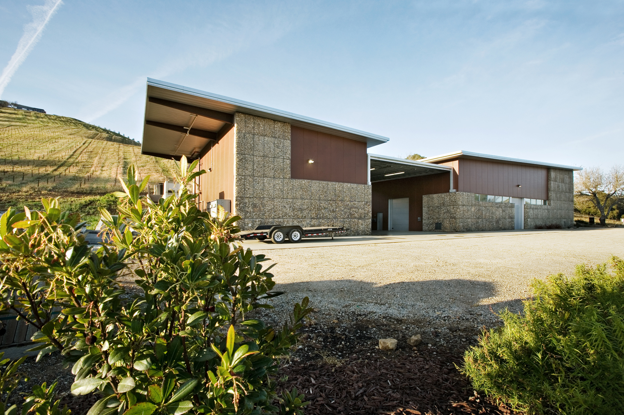Kukkula Winery / Studio B Architects, © Derek Skalko