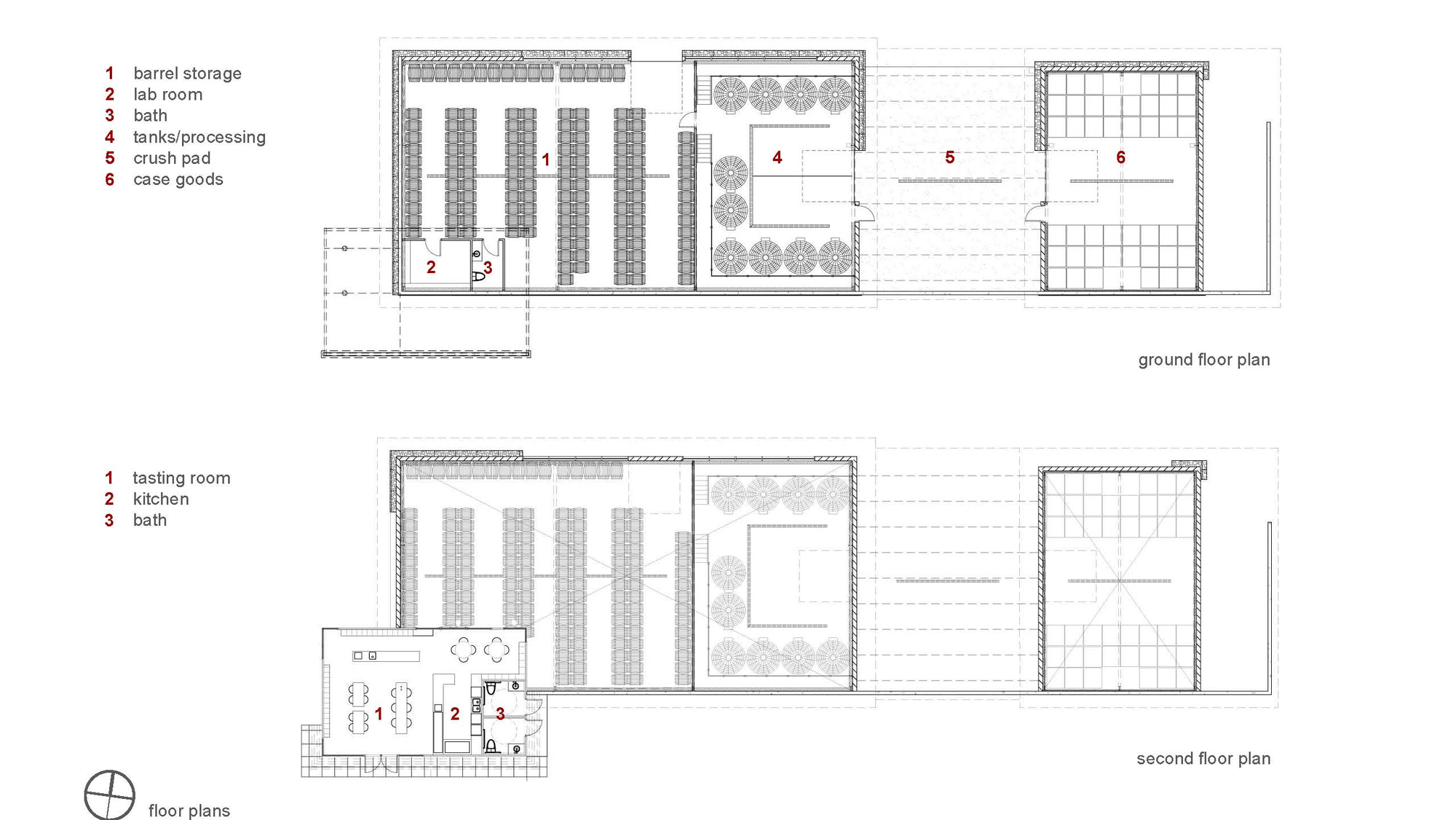 Gallery of kukkula winery studio b architects 21 for Winery floor plans by architects