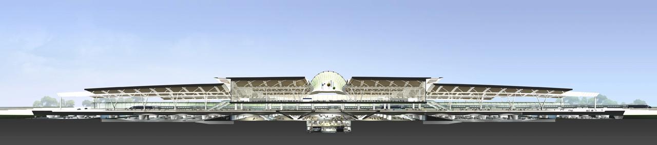 Guangzhou South Railway Station / TFP Farrells