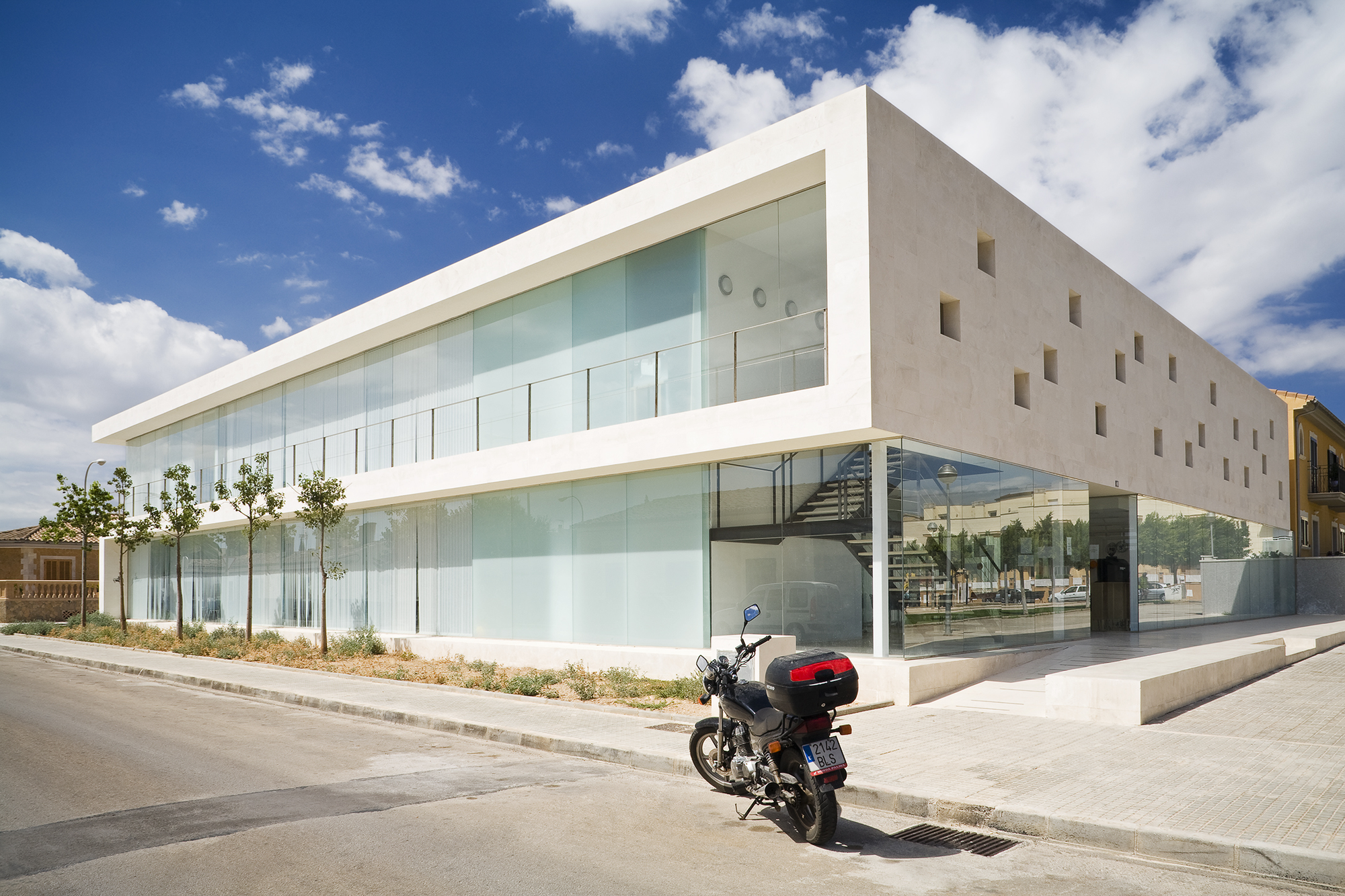 Centro Cultural en Son Ferriol / Jordi Herrero & Sebastián Escanellas, © Jaime Sicilia