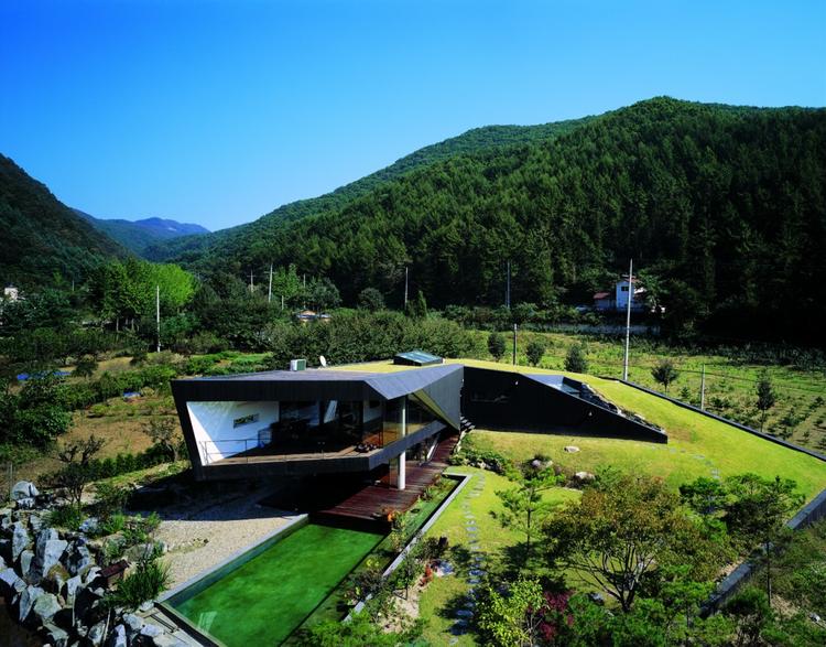 Villa Topoject  / AND, © Byun, Jong Suk