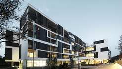 Residential and Nursing Home Simmering / Josef Weichenbrger Architects + GZS