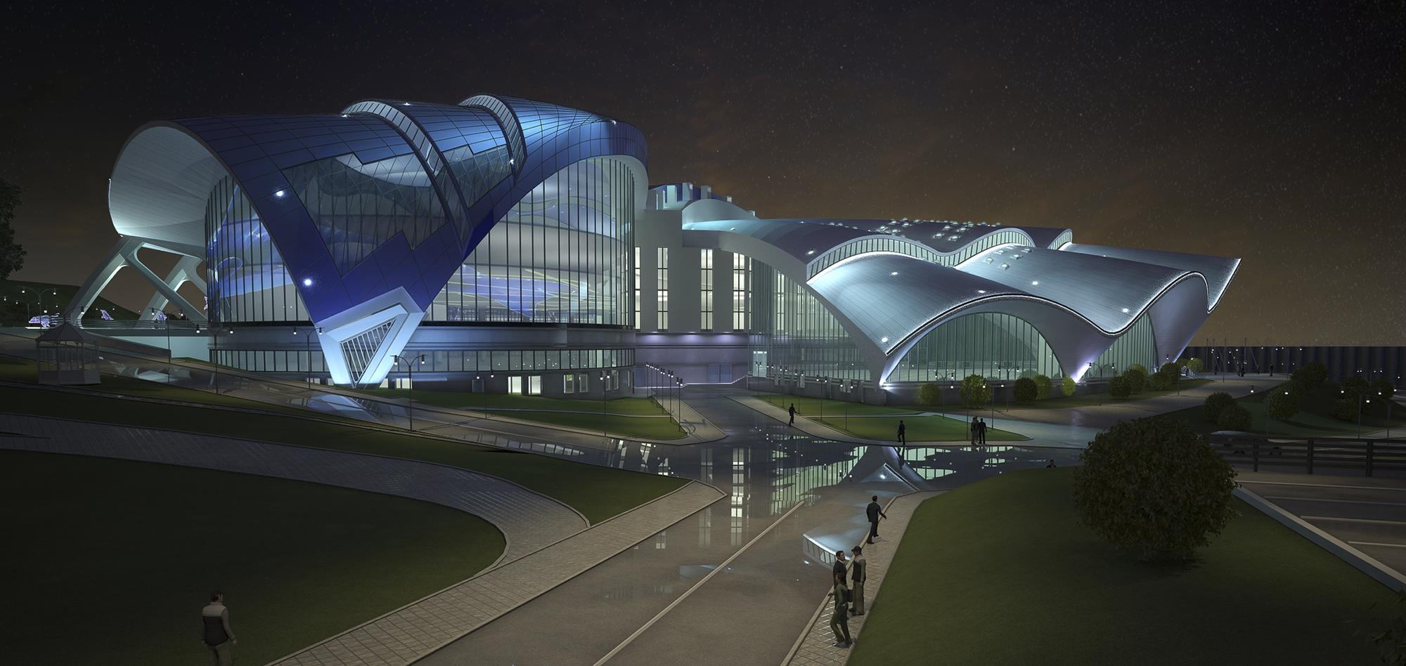 In Progress: Primorsky Aquarium / OJSC Primorgrajdanproekt