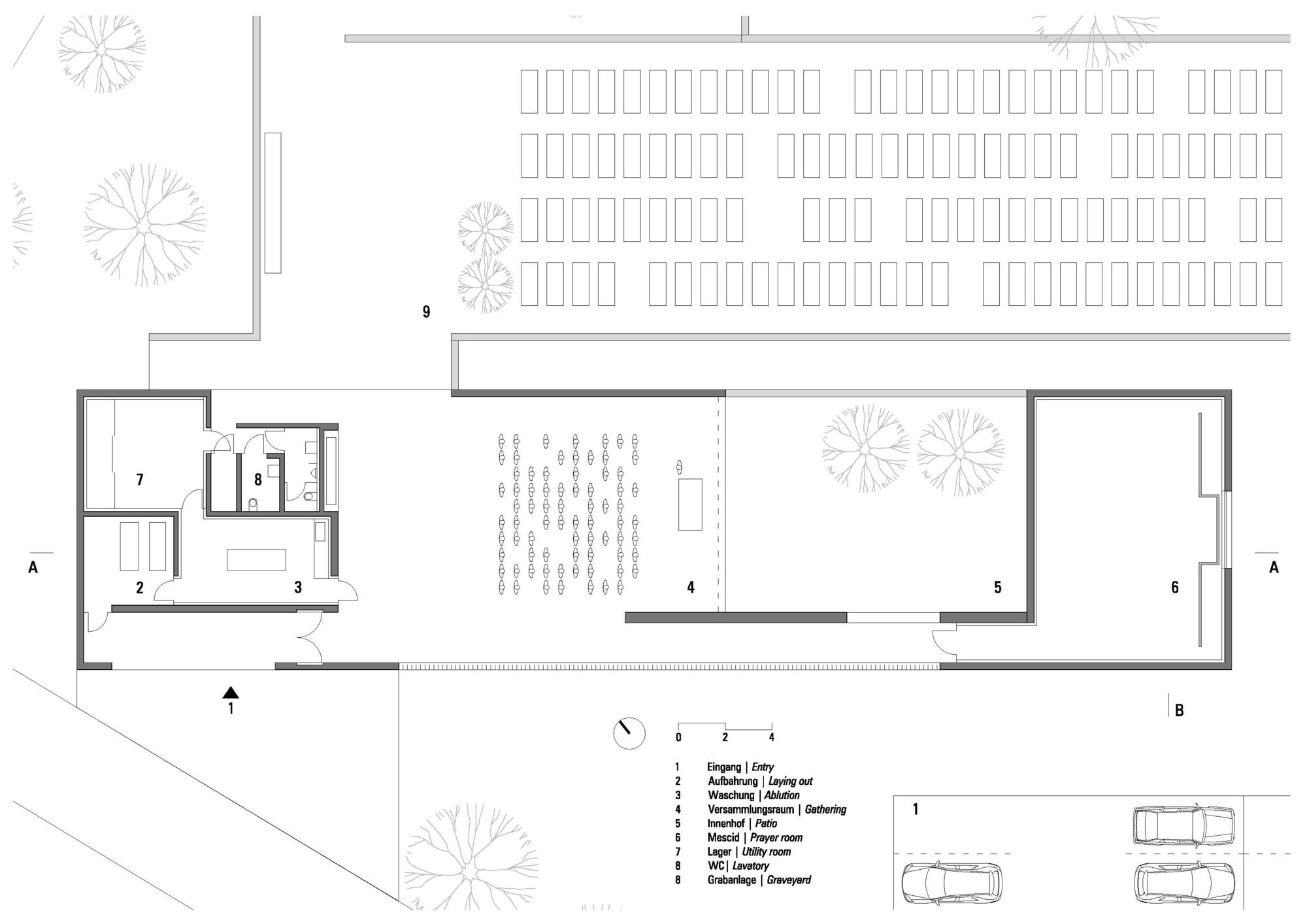 معماری اسلامی، ایده ی اصلی طراحی قبرستان مسلمانان در استرالیا