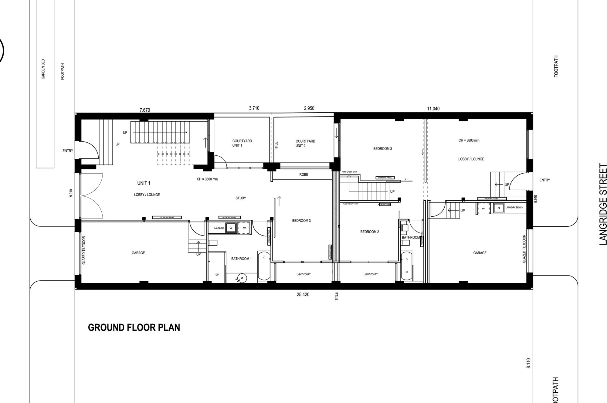 Gallery of the abbotsford warehouse apartments itn for Warehouse building plans
