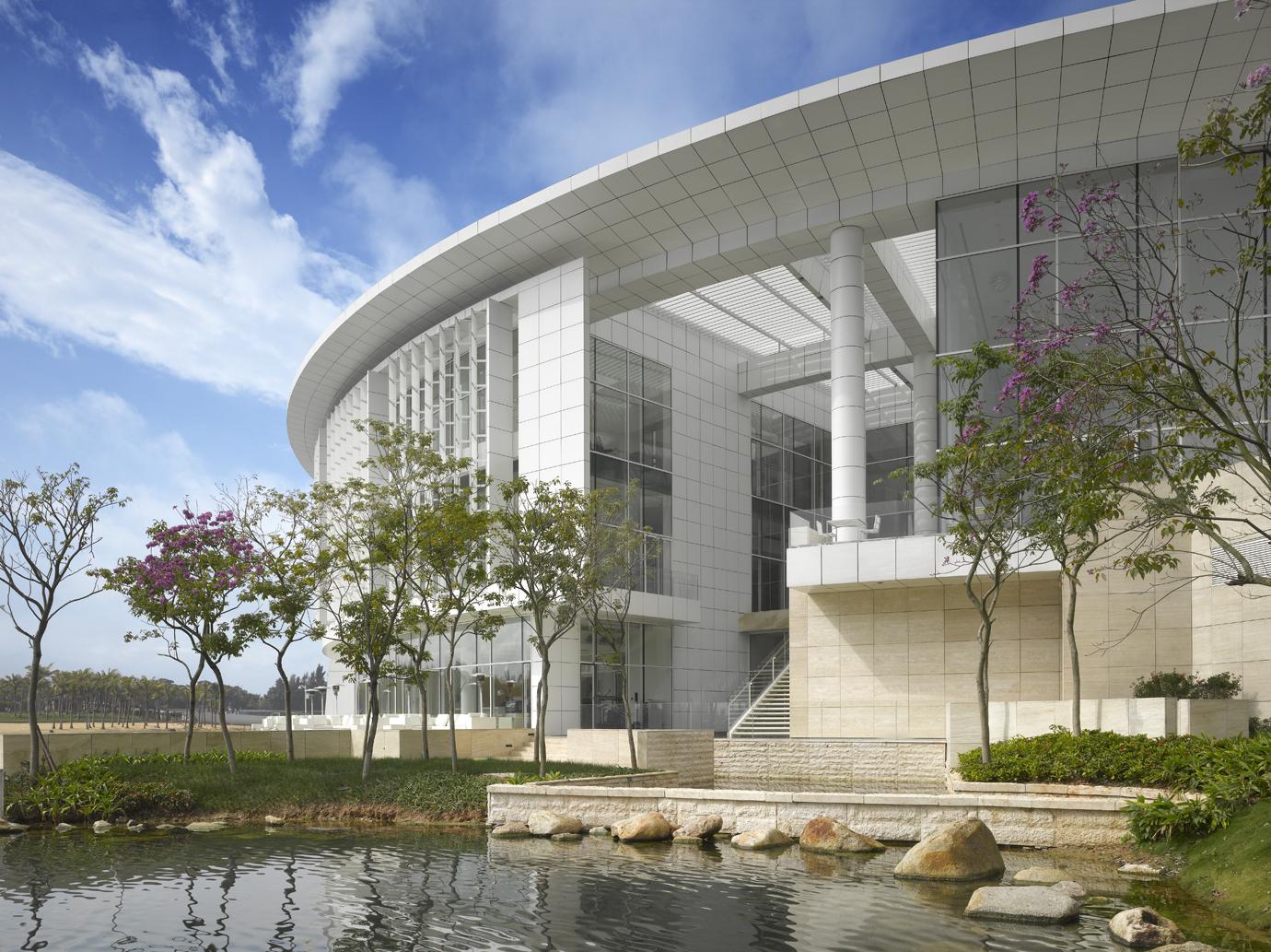 OCT Shenzhen Clubhouse / Richard Meier Architects