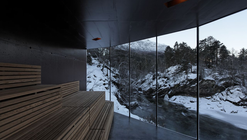 River Sauna / Jensen & Skodvin Architects