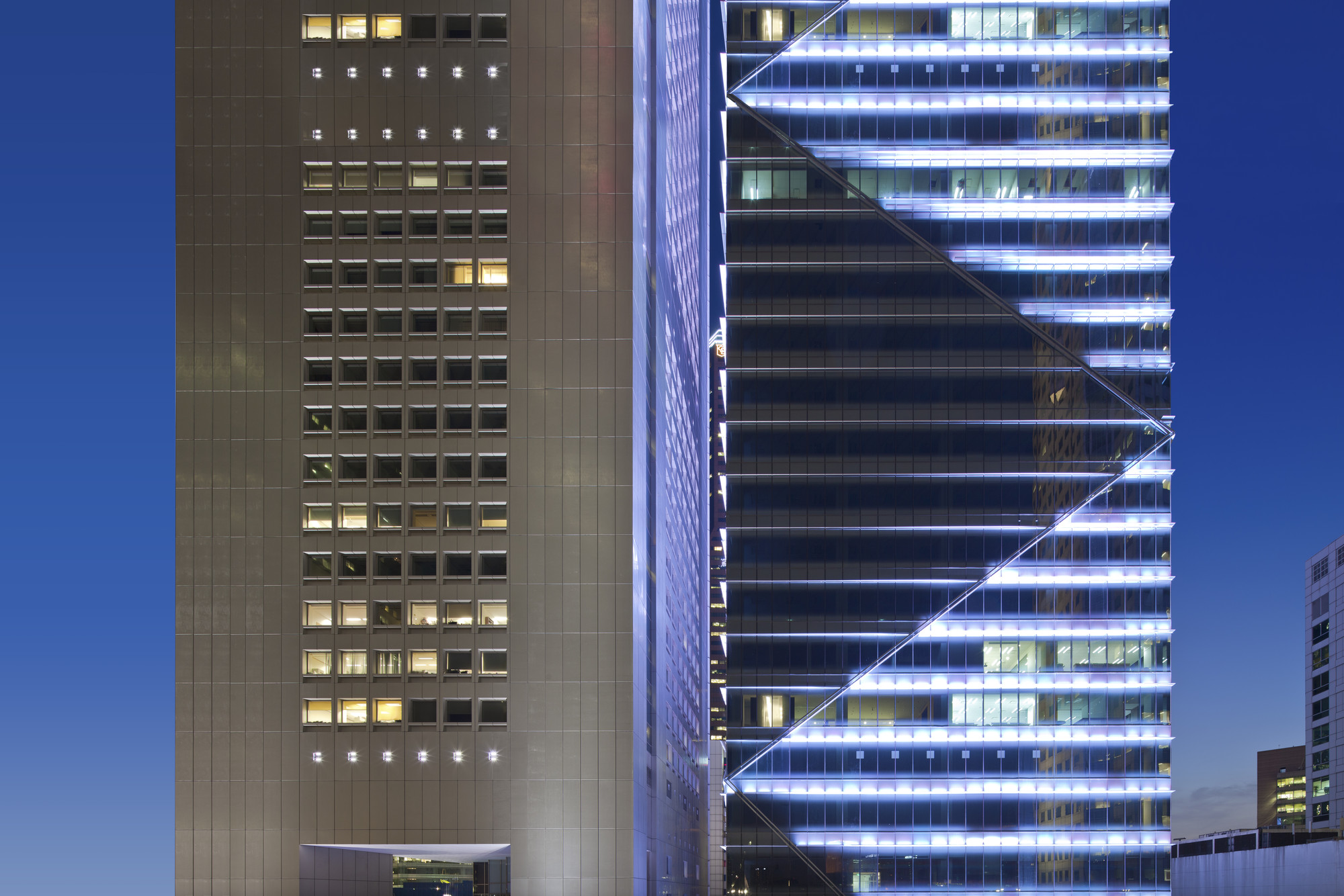 One Raffles Place Tower 2 / Tange Associates
