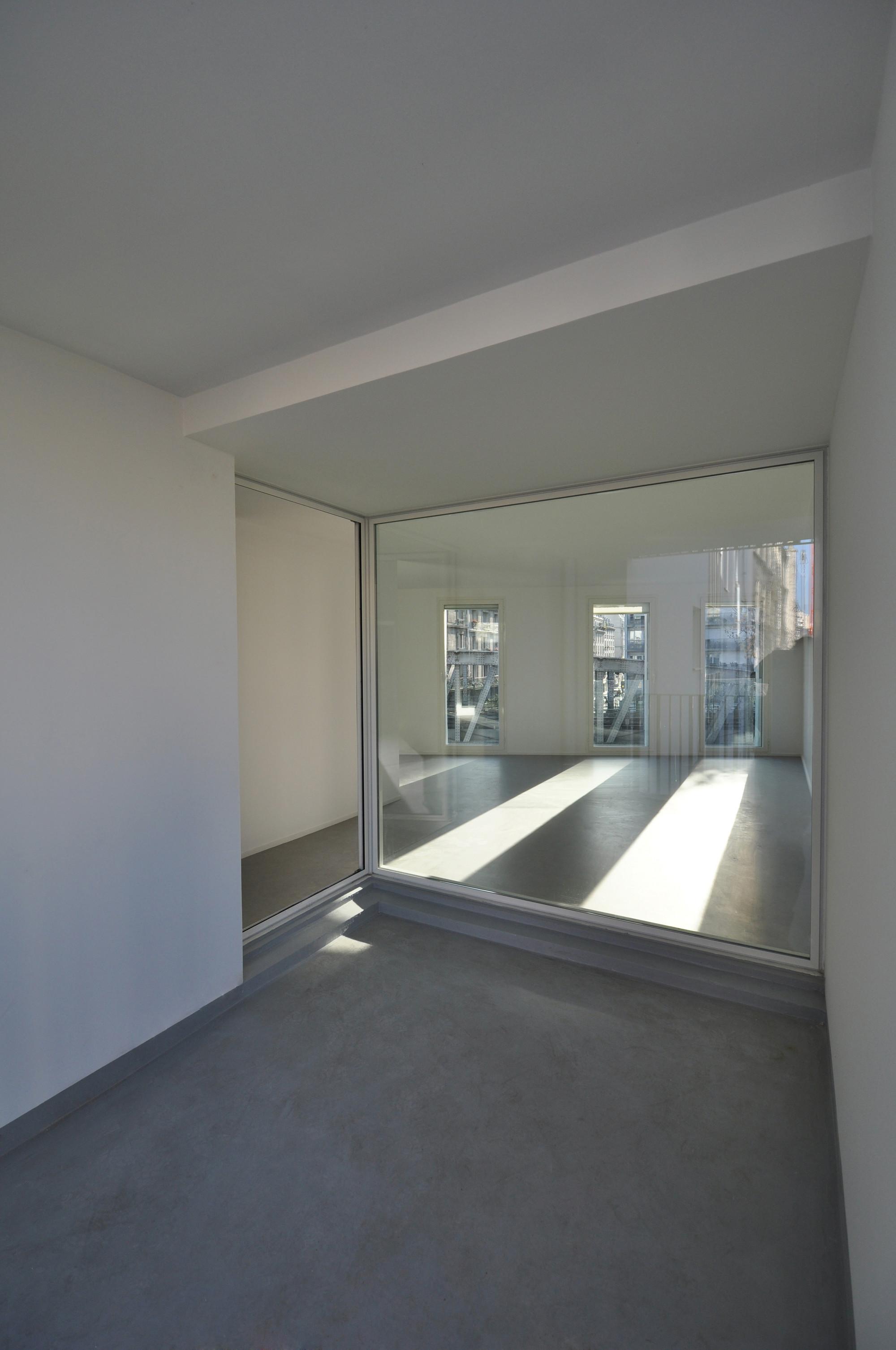 Social Housing in Paris / Bigoni Mortemard Architects