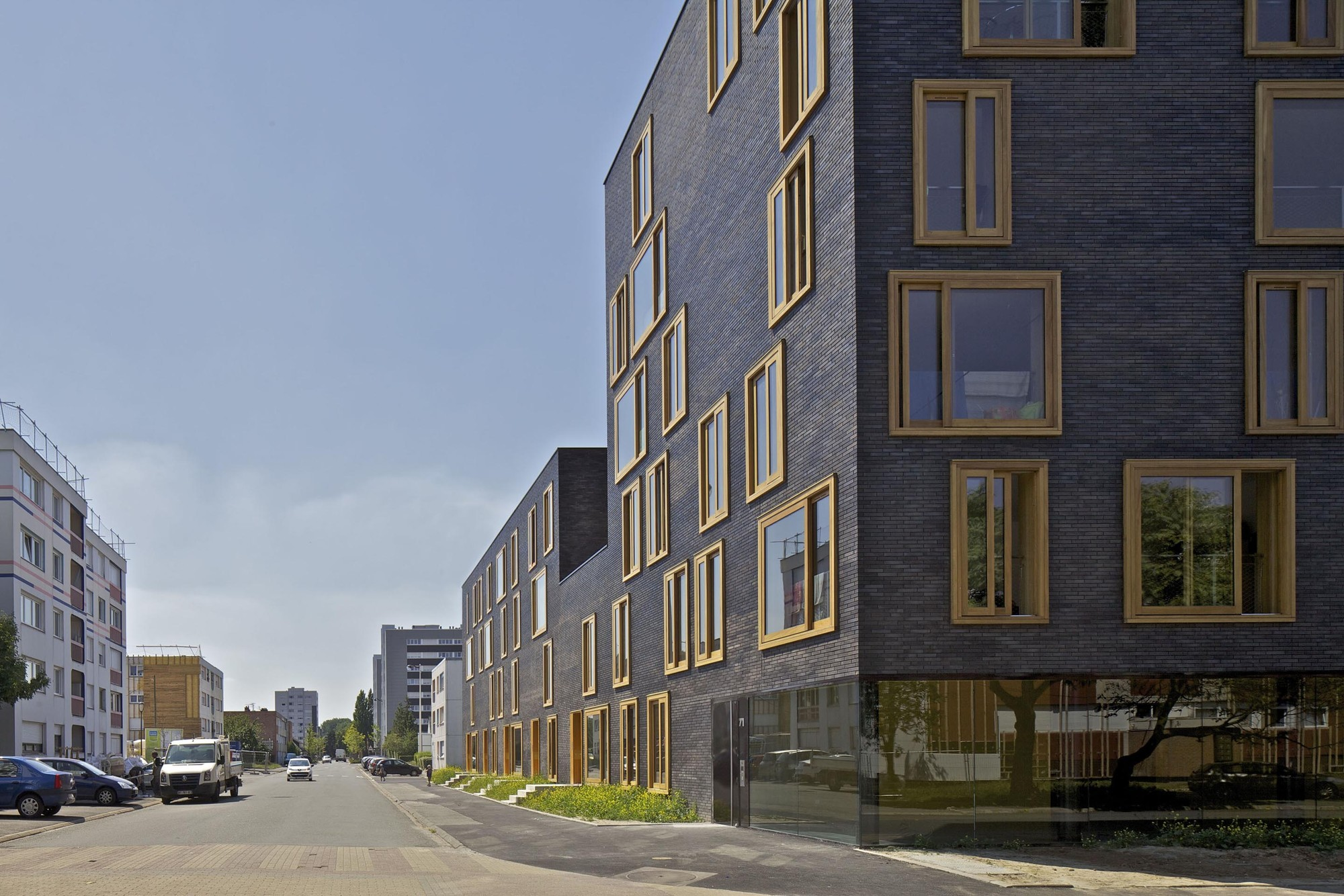 Gallery of hollande b thune social housing fres for Fres architectes