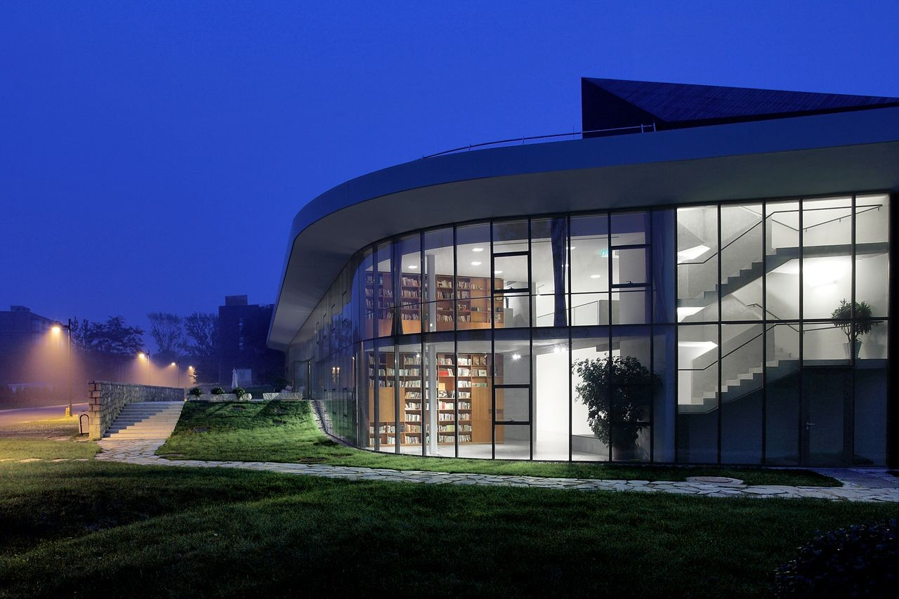 Gallery of gehua youth and cultural center open for Youth center architecture
