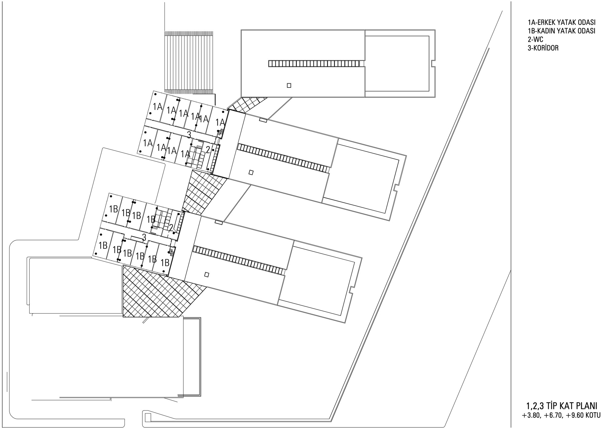 1st - 3rd Floor Plan