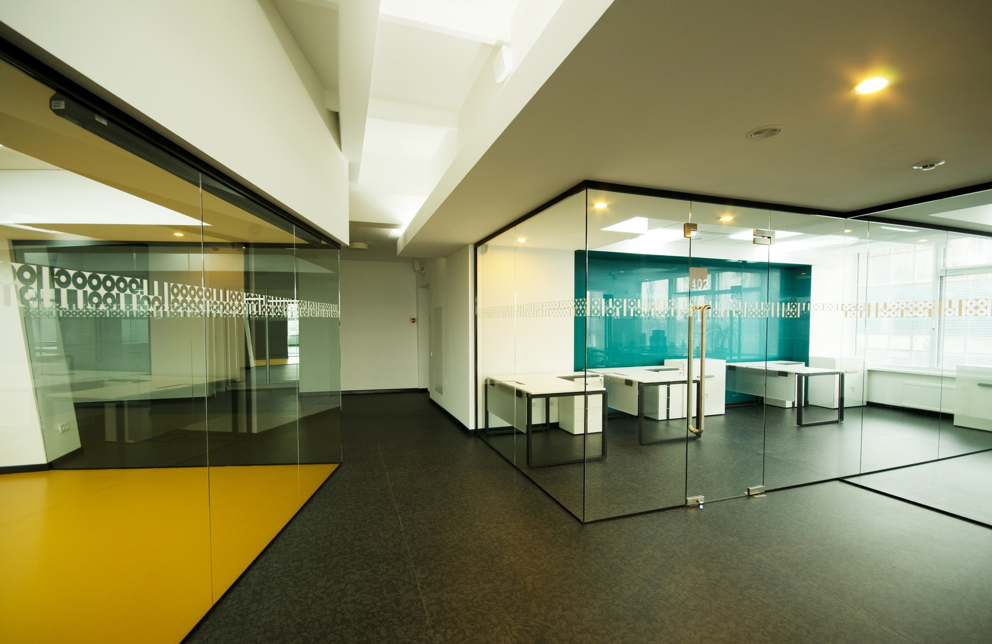Gallery of office of technology company tseh for Design office 4100