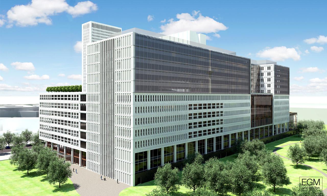 In Progress: Erasmus MC / EGM architecten