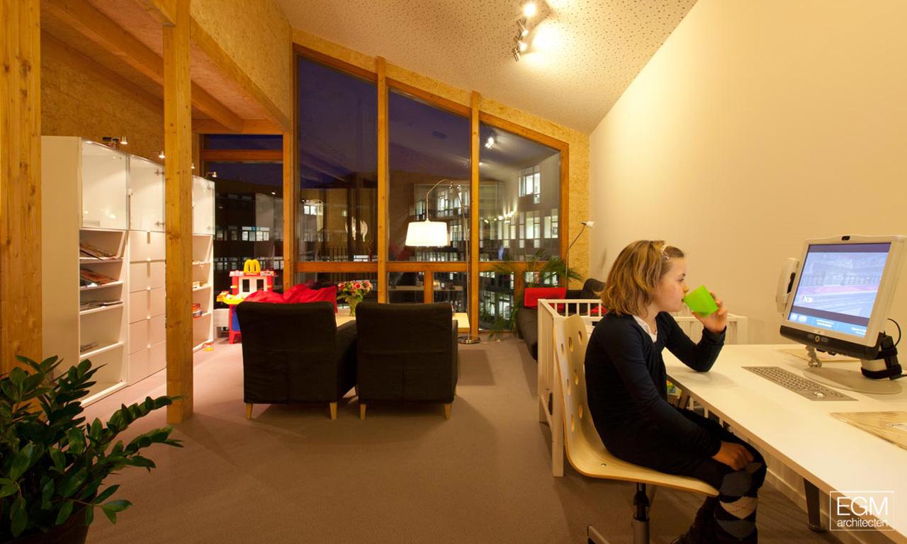 Gallery of ronald mcdonald family room egm architecten 11 for Ronald mcdonald family room