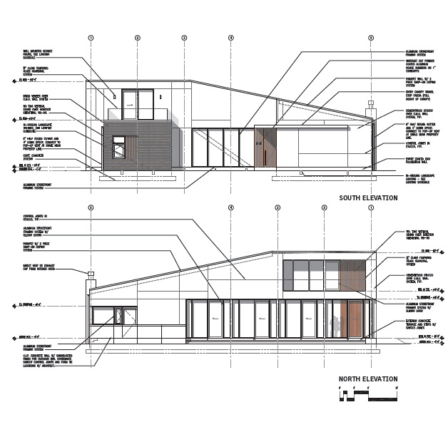 Gallery of barrier island house sanders pace for Tynan house plans