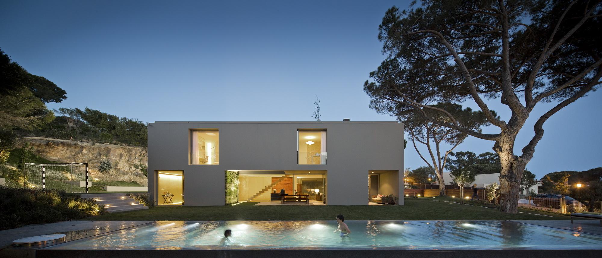 House in Quinta Patino / Frederico Valsassina Arquitectos, © FG+SG