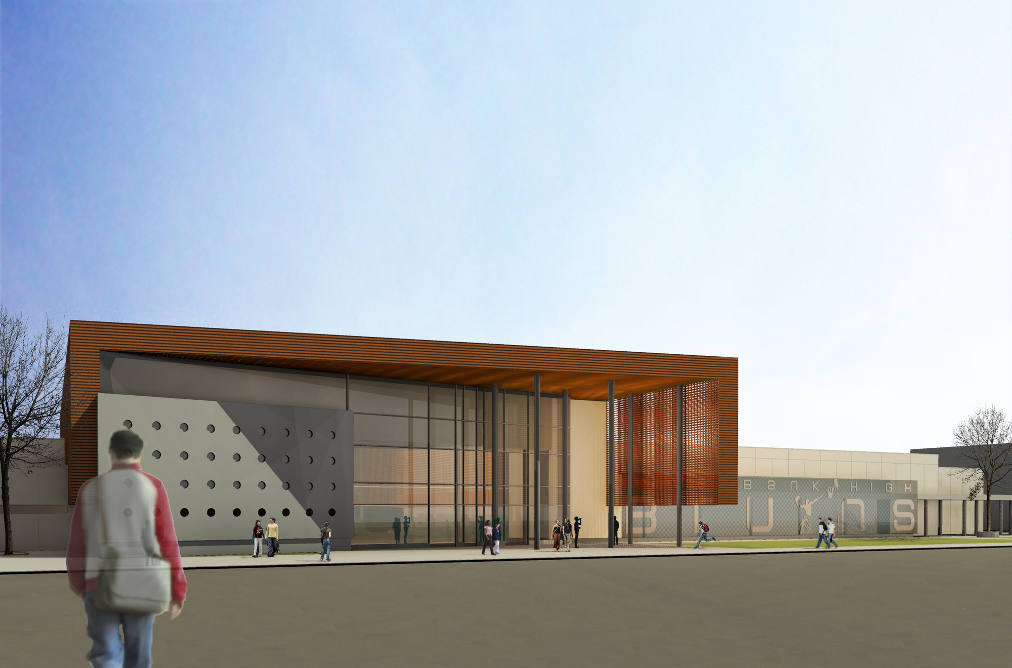 Riverbank High School / Darden Architects
