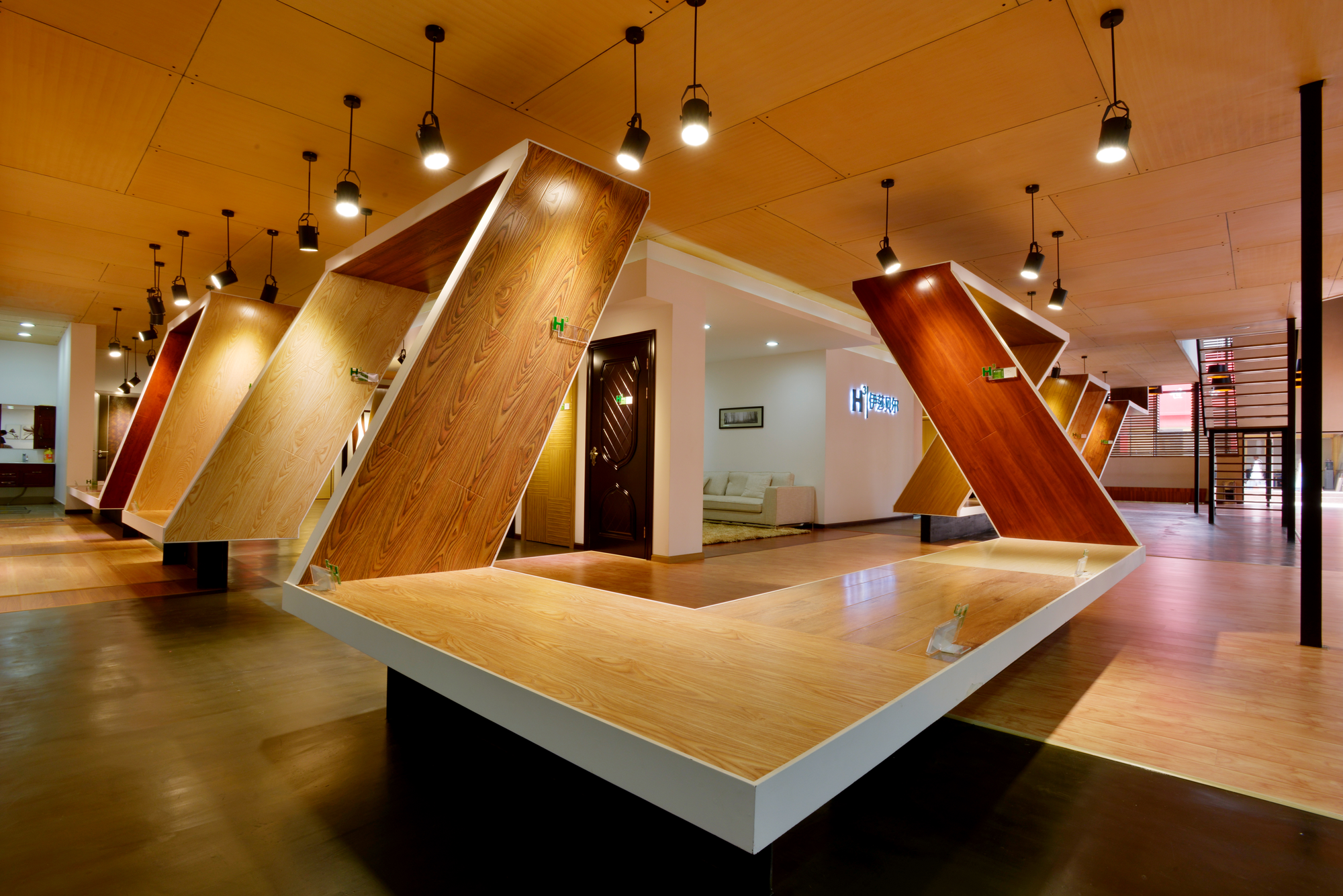 Exhibition Stand Flooring : Gallery of h experience center nota design group