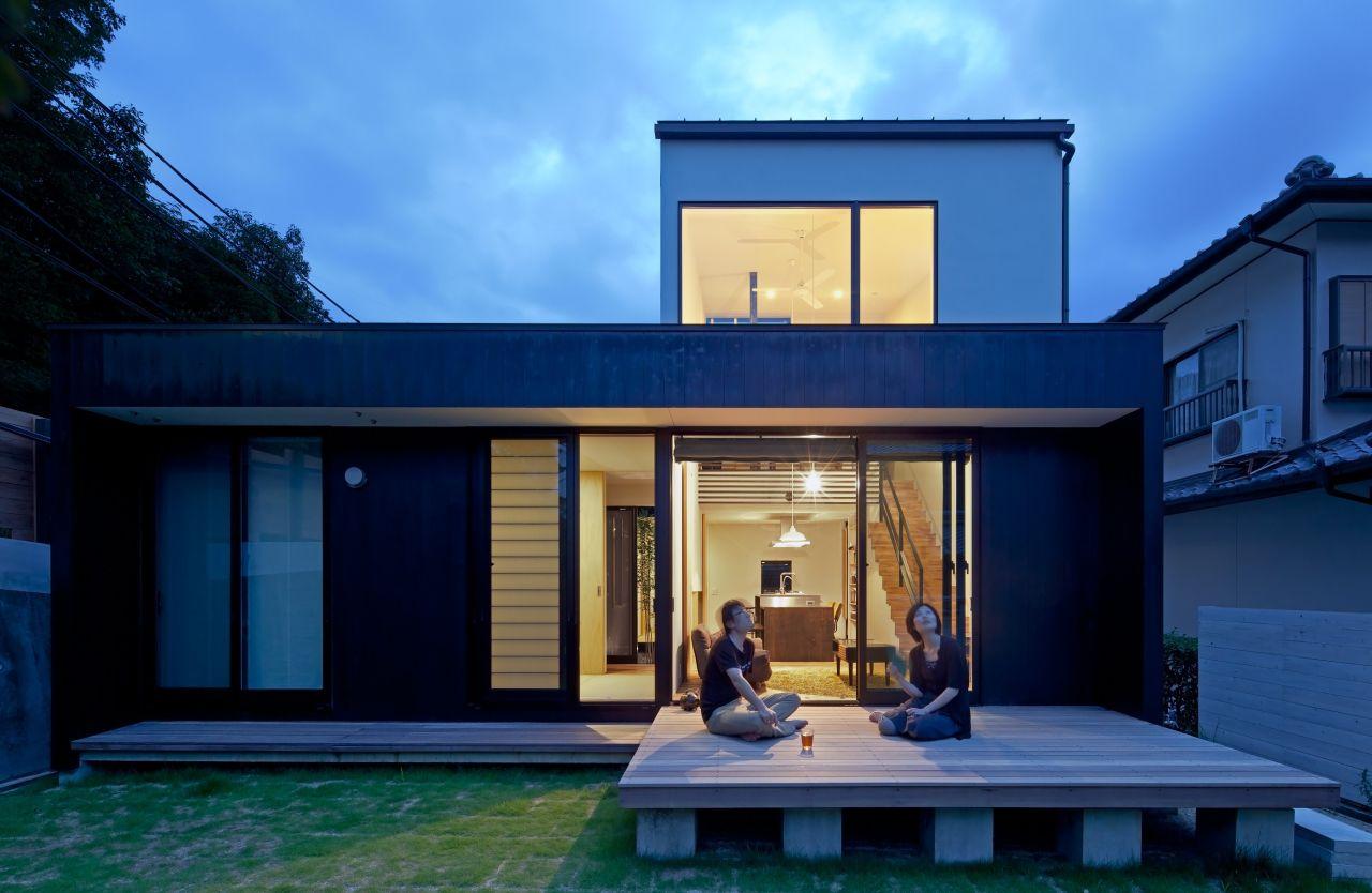 Niu House / Yoshihiro Yamamoto Architect Atlier, © Yohei Sasakura