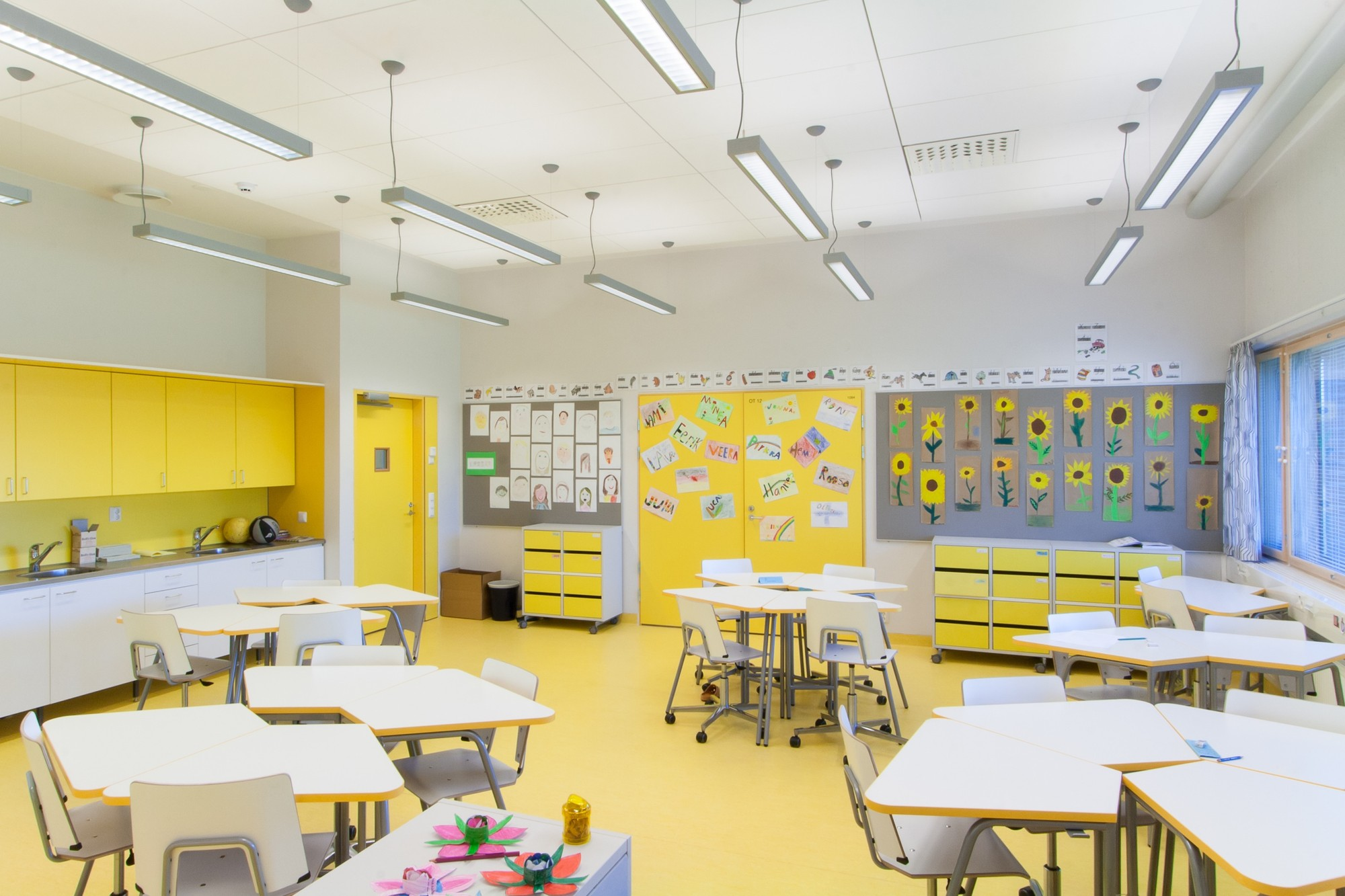 Classroom Design Architecture : Niemenranta elementary school alt architects