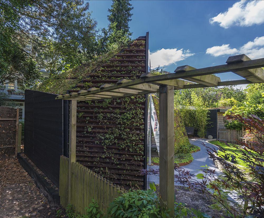 Garden studio in Amsterdam Watergraafsmeer / CC-Studio