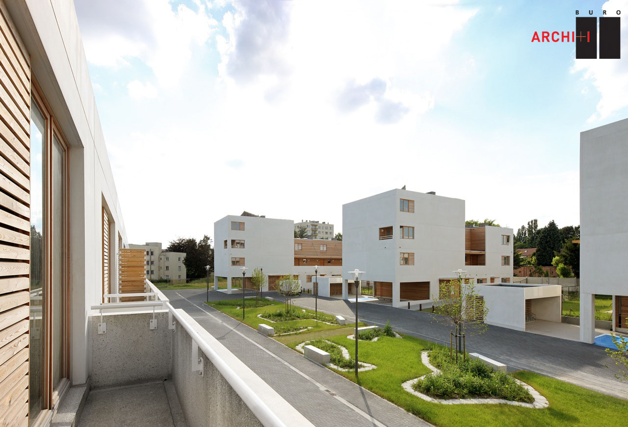 St-Agatha-Berchem Sustainable Social Housing / Buro II & Archi+I