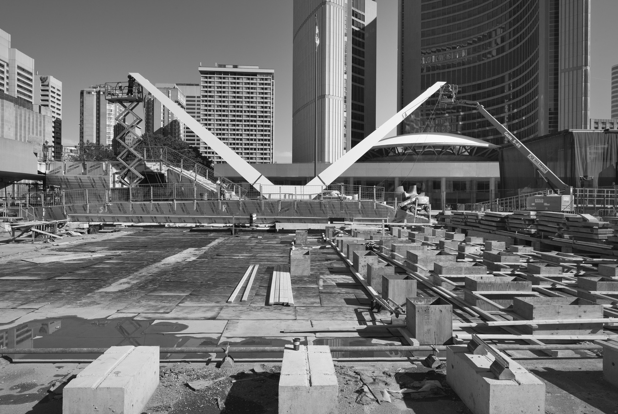In Progress: Theatre at Nathan Phillips Square / Perkins+Will