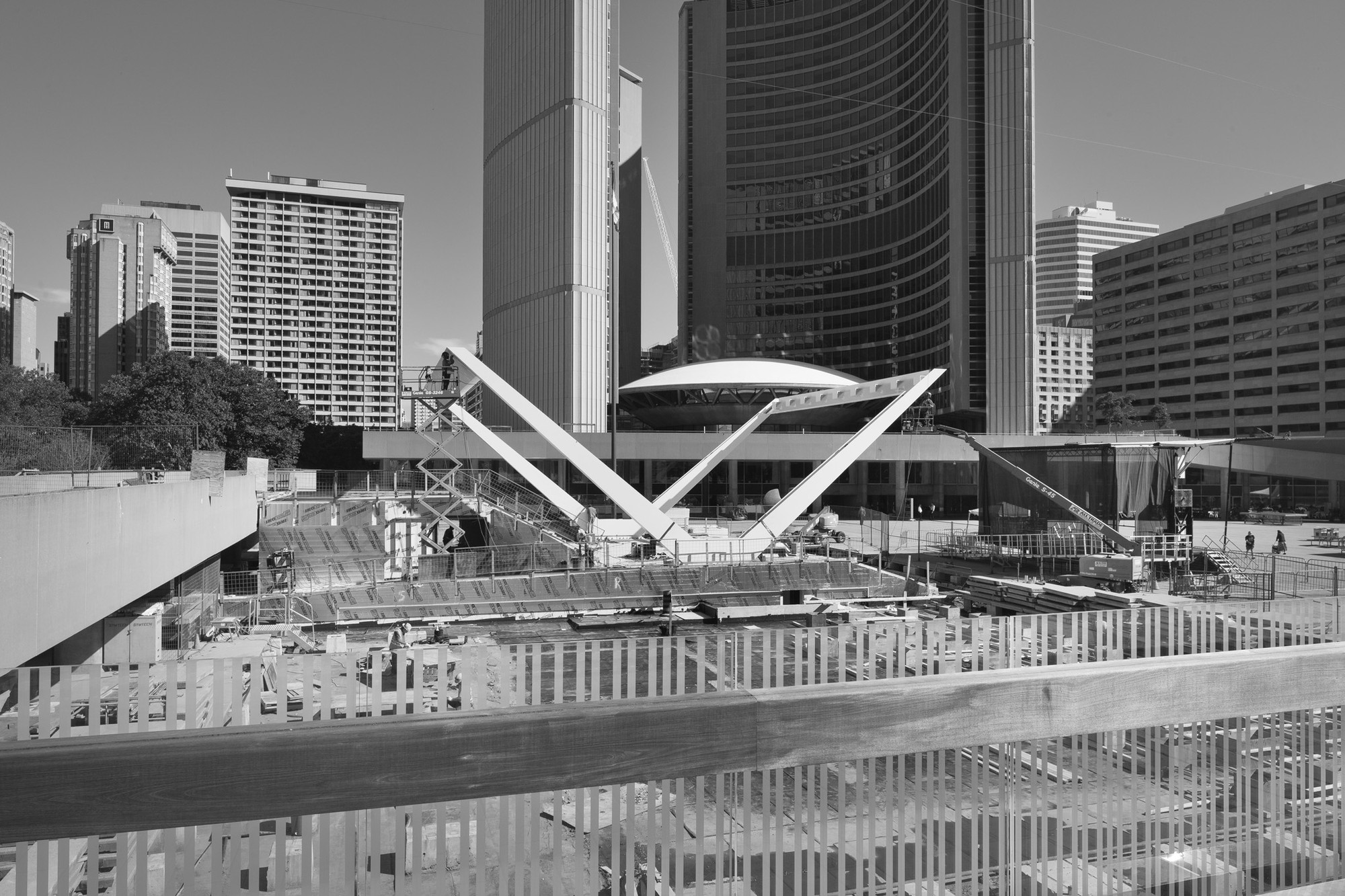 In Progress: Theatre at Nathan Phillips Square / Perkins+Will, © Steven Evans