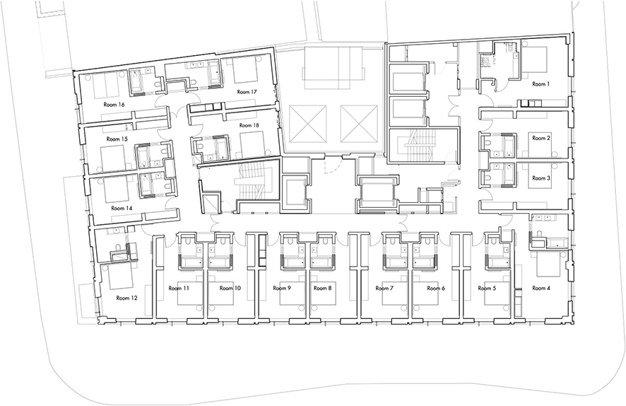 Gallery of south place hotel allies and morrison 15 for 15 dunham place floor plans