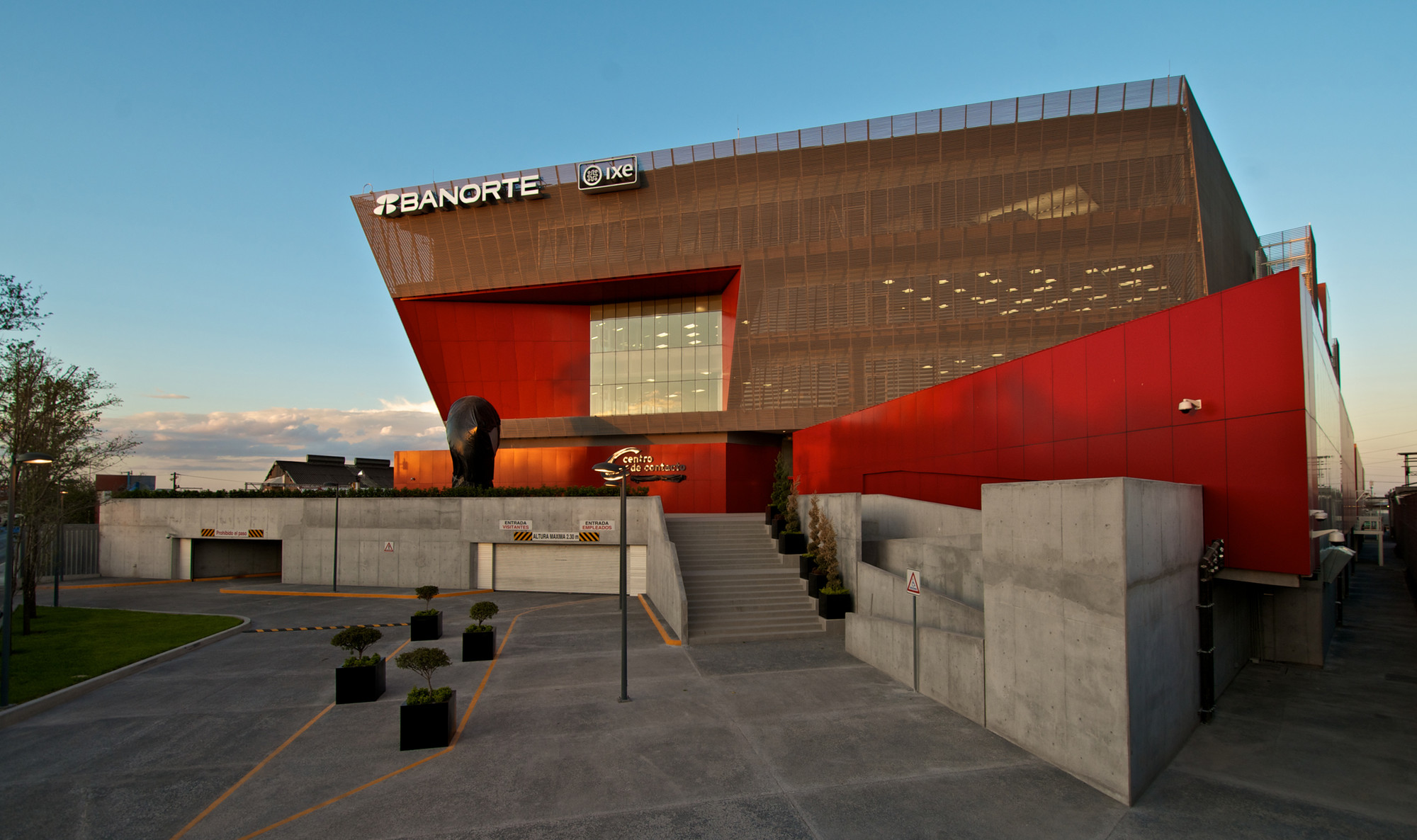 banorte building lenoir asoc estudio de arquitectura