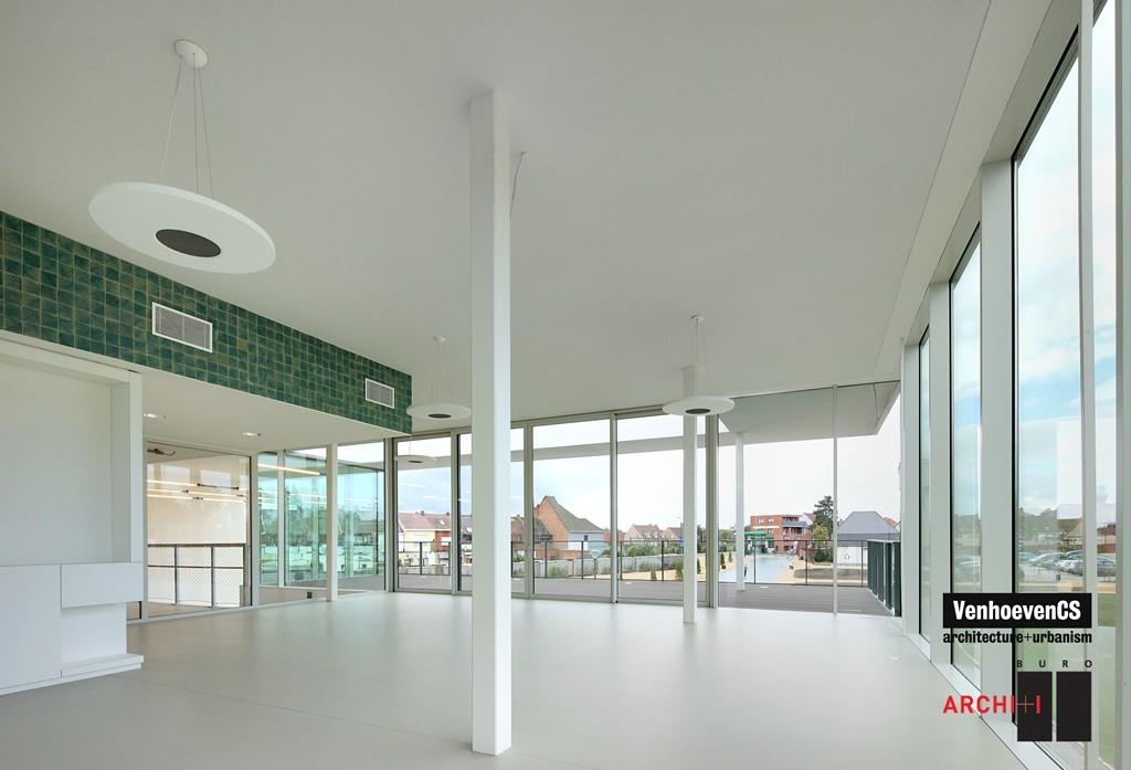 Sport facilities De Warande in Wetteren / BURO II & ARCHI+I