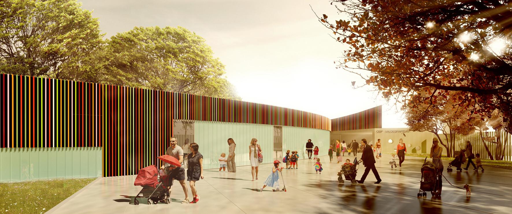 Jardin infantil tag plataforma arquitectura for Restaurante escuela de arquitectos madrid