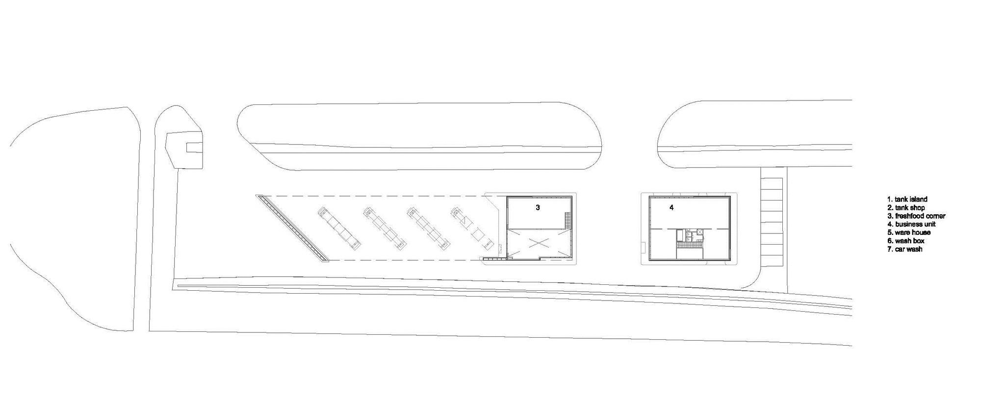 Sustainable Gas Station Avia Marees / Knevel Architecten