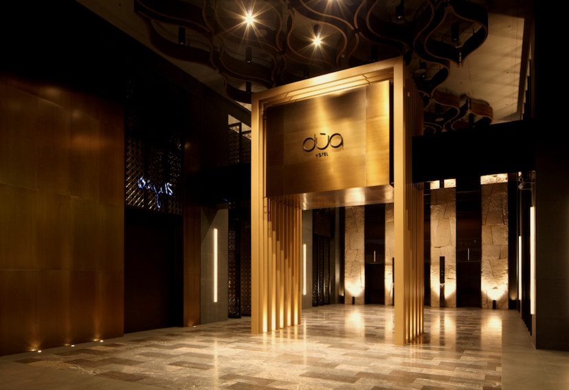 Gallery of hotel dua koan design 25 for Hotel foyer decor