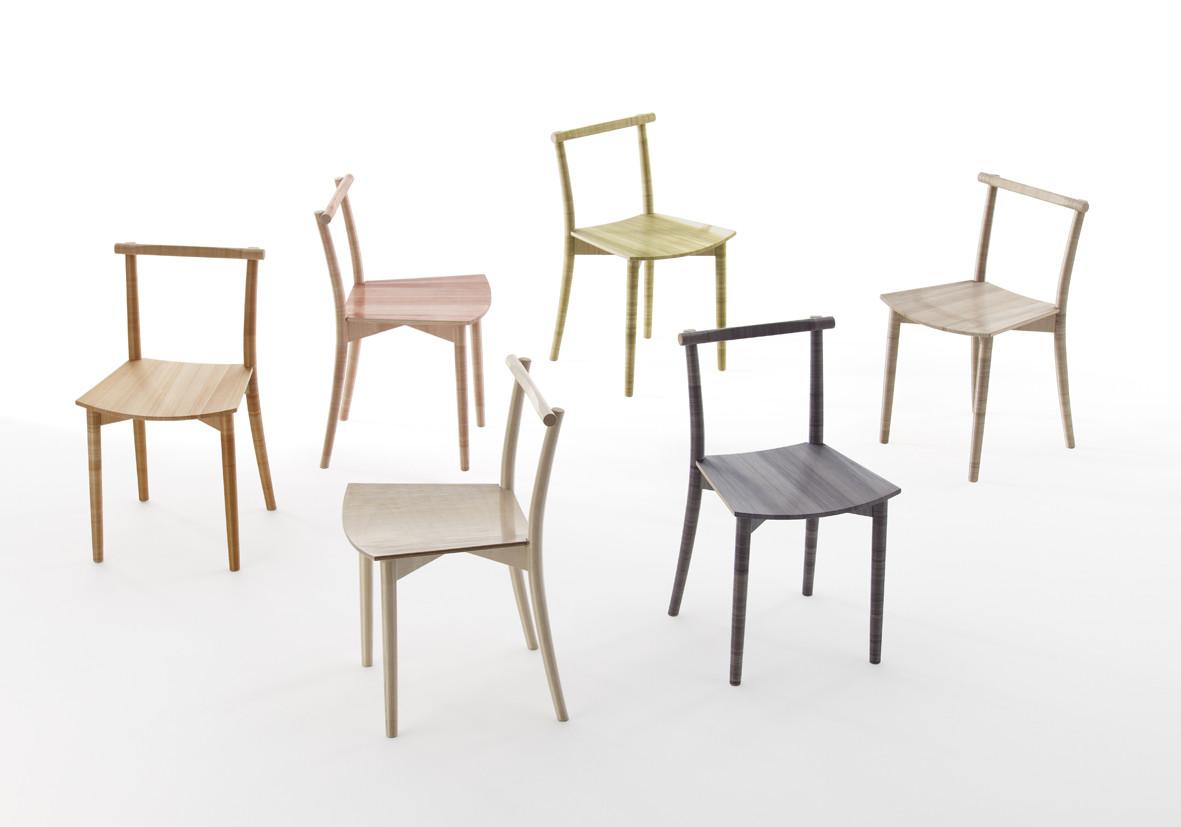 Nendo diseña la silla Fishline para INTERIEUR 2012, © Hiroshi Iwasaki