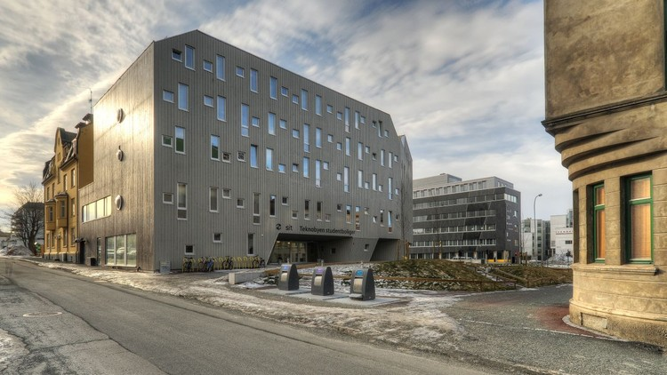 Trondheim Student Housing  / MEK Architects, © Mathias Herzog