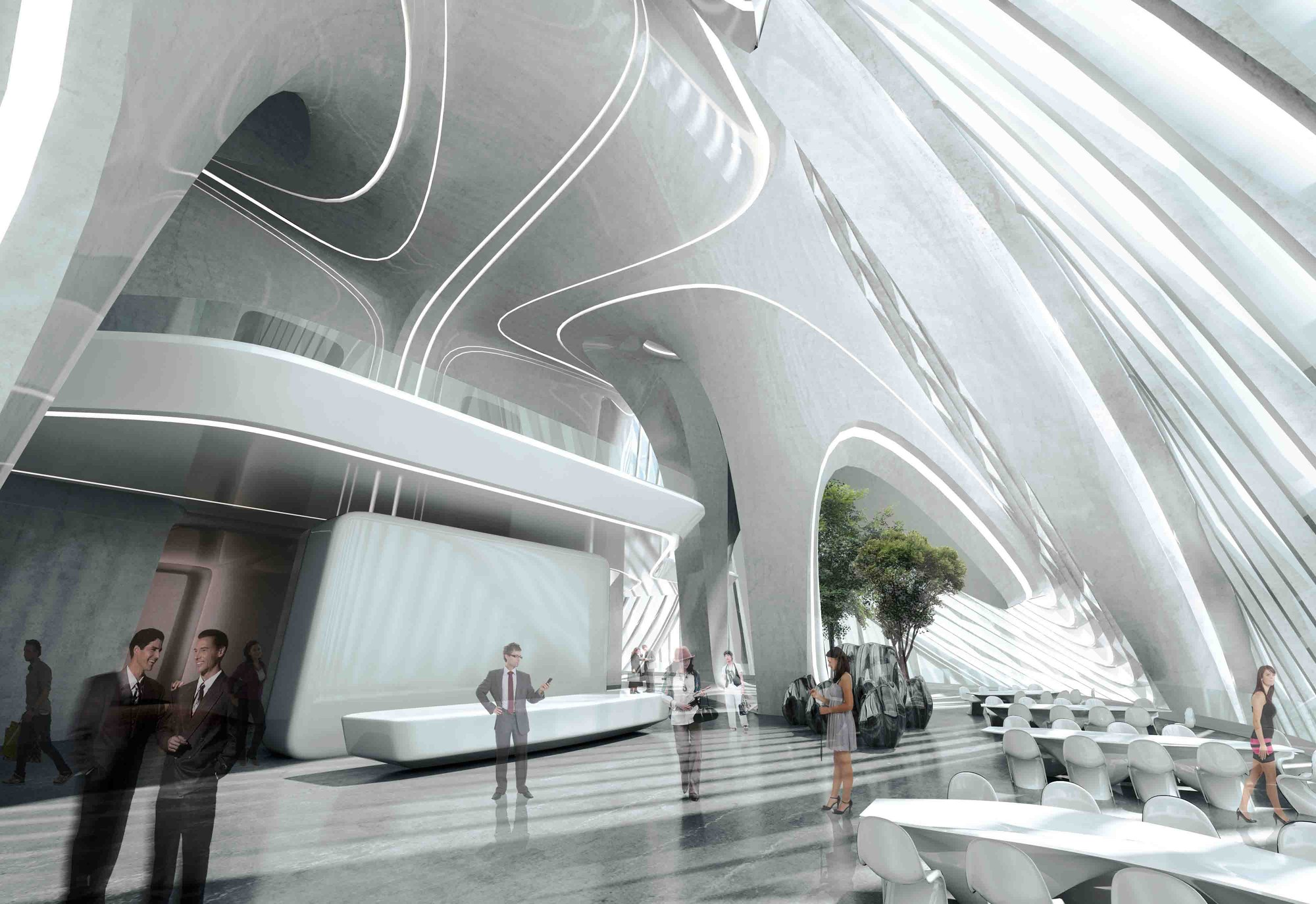 Cortesia de Zaha Hadid Architects