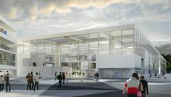 OMA Obtiene Primer Lugar en Concurso para Escuela de Ingeniería en Saclay, Francia