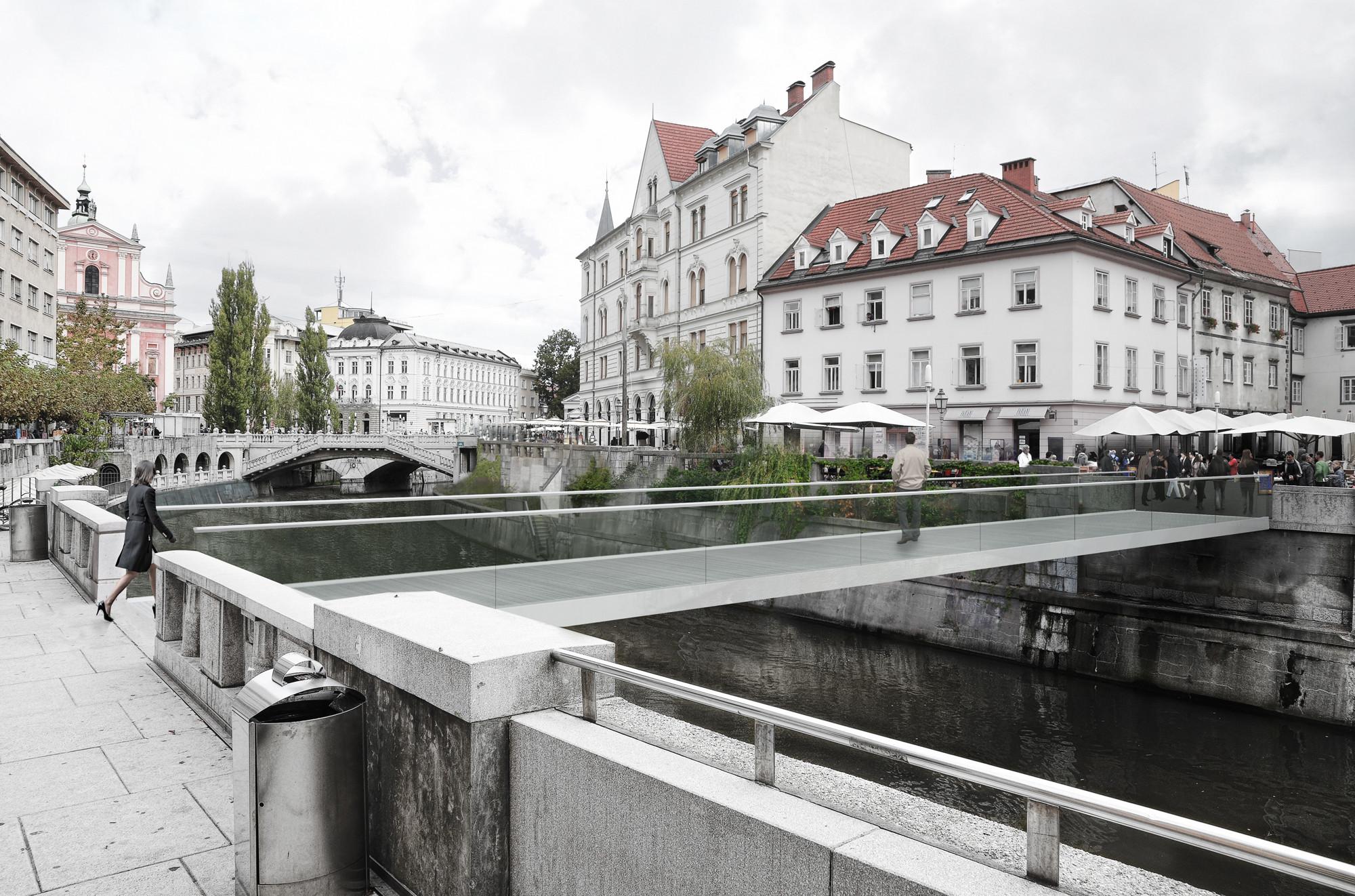Footbridge in Ljubljana / Arhitektura d.o.o., Courtesy of Arhitektura d.o.o.